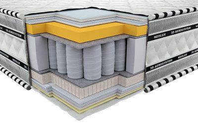 materac termoelastyczny regulujący temperaturę ciała