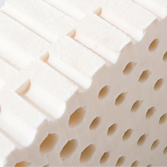 naturalny lateks w materacach jest ergonomiczny i łagodny dla skóry