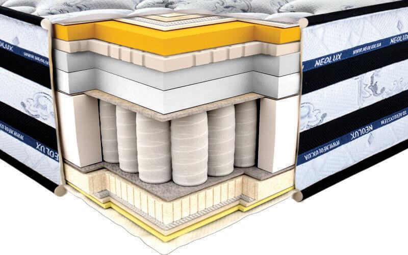 Materac do łóżka innsbruck 3D