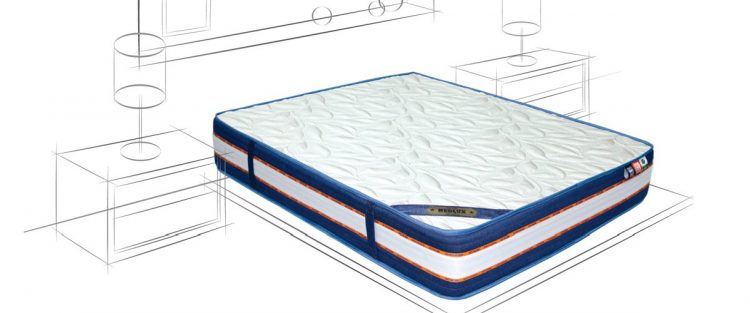 Materac do łóżka texas w wersji 3D Białystok
