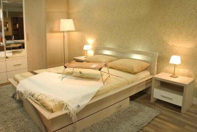 materac i łóżko w domu alergika