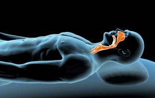 Pozycja leżąca na plecach - materac odleżynowy