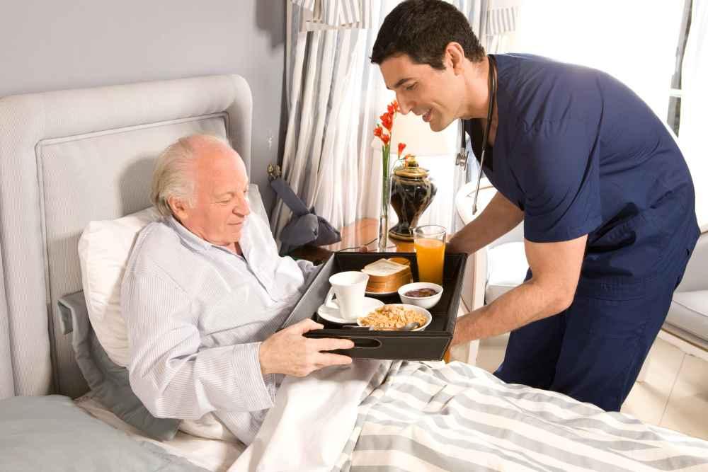 materac leczniczy w szpitalu geriatrycznym