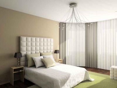Sypialnia - łóżko ze sklepu z materacami